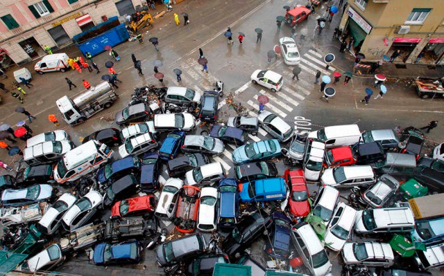 Verkehrschaos