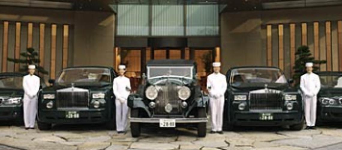 The Penisula Tokyo Car Fleet