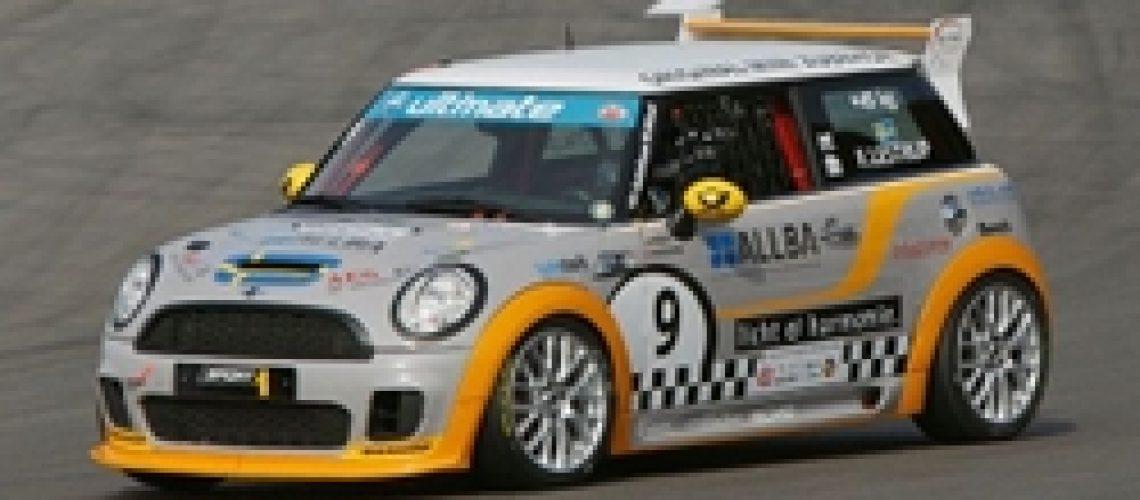 Frederik Lestrup MINI Challenge N¸rburgring 2010 AvD Oldtimer-Grand- Prix